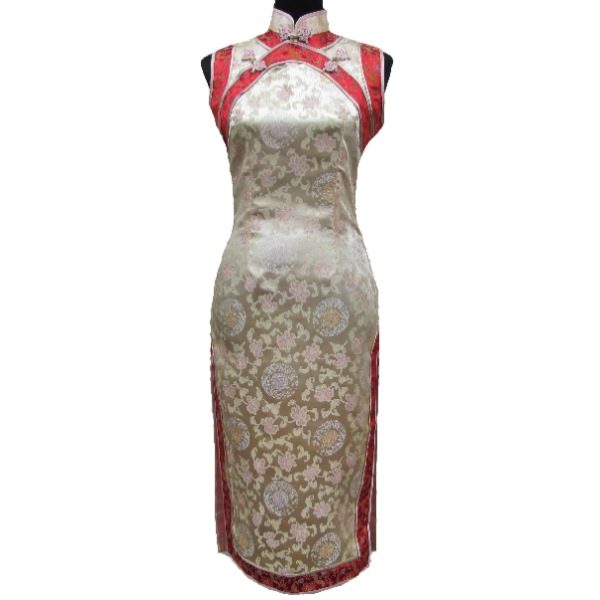 Robe chinoise traditionnelle en soie