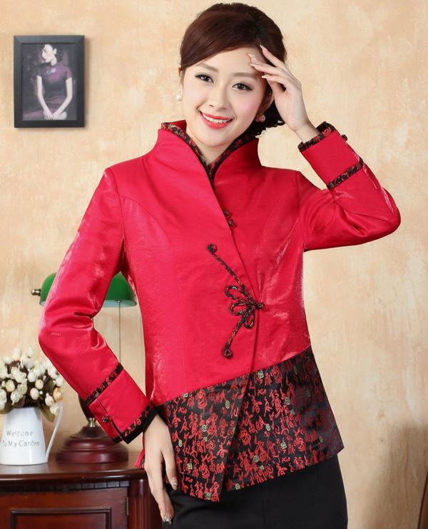 Veste de style asiatique