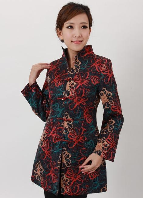 Longue Veste Veste Asiatique Tunique Coton UMjLGqSVpz