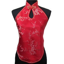 Dos Nu Japon Fleur Rouge