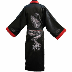 Kimono Bordee Reversible Dragon Bordee Motif