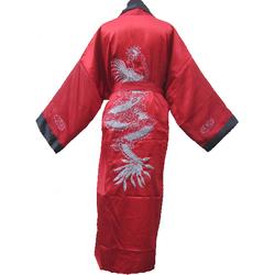 Kimono Dragon Asiatique Bordee Reversible