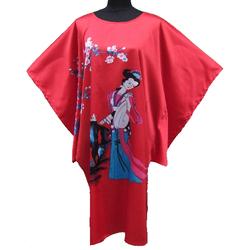 Kimono Robe Court Bleu Pour Sable Mer