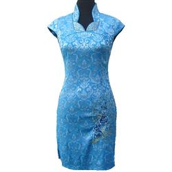 Robe Courte Paris Modele Bleu