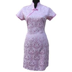 Robe Hotesse Asiatique Rose