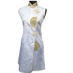 Robe de Soiree Blanche Boutique Asiatique