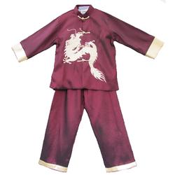 Vêtement Garçon Asiatique KungFu