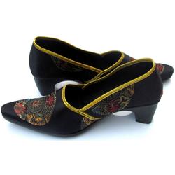 Chaussure Asiatique Noir
