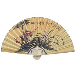Eventail Asiatique Decoration Pas Cher