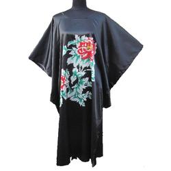 Kimono Japonais Robe Noire