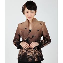 Veste Asiatique Manche Longue Coton