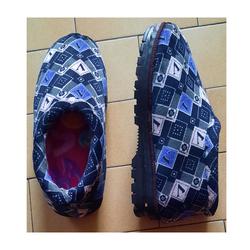 Chausson Hiver Asiatique Bleu Taille 38-39