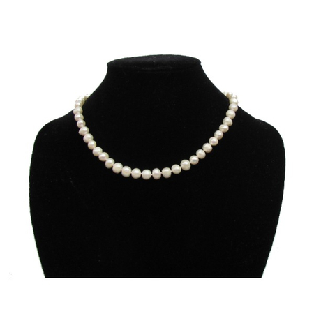 Collier en Perles de Culture Blanc