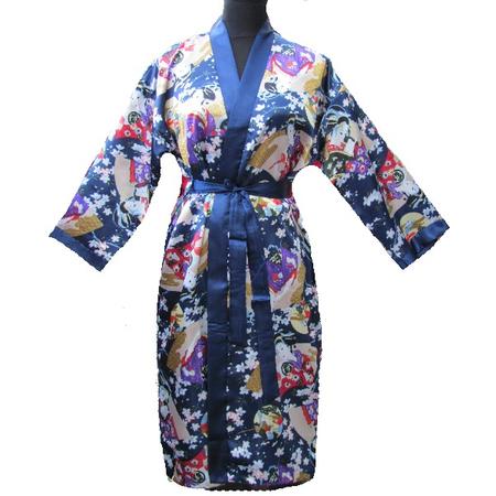 Kimono Femme Japonais Asiatique Motif