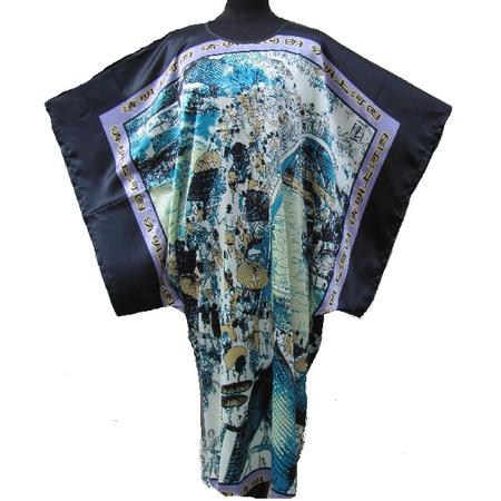 Kimono Grande Taille Motif Dynasty Qing Asiatique