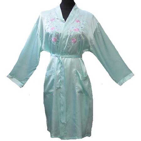 Kimono Manche Longue Motif Fleur