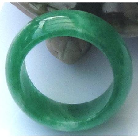 Bague Vert Clair Jade Boutique