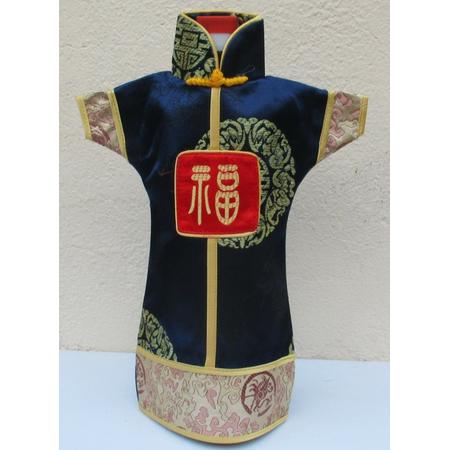 Decoration Robe Asiatique Pour Bouteille
