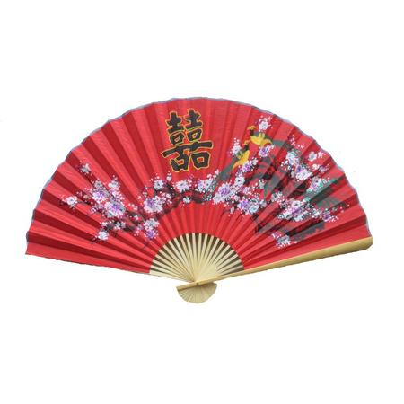 Evenatil Asiatique Rouge Deceration