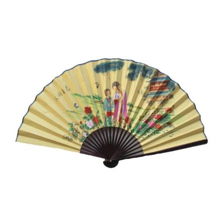 Eventail Asiatique Motif