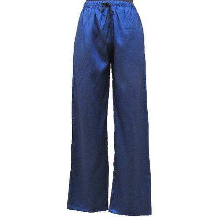 Pantalon Asiatique Lin Noire
