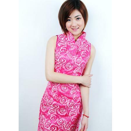 Robe Asiatique Pas Cher Fushia
