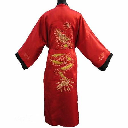 Kimono Satin Reversible Double Faces